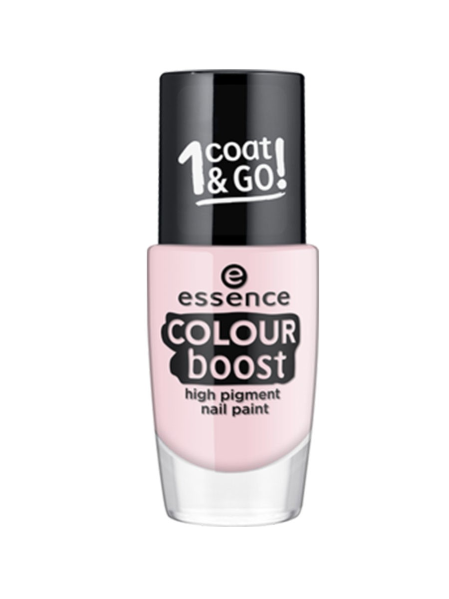 ESSENCE COLOUR BOOST HIGH PIGMENT NAIL PAINT 01