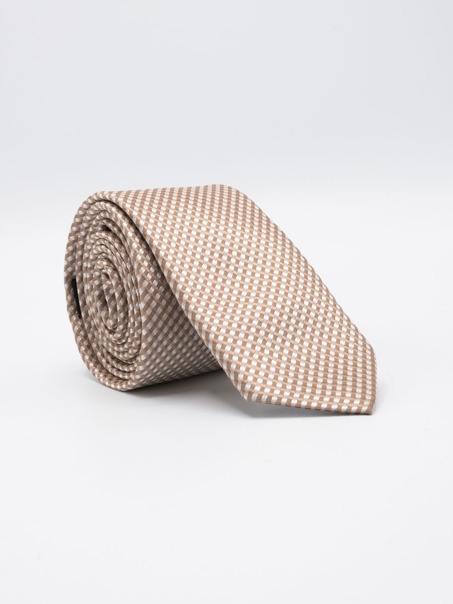Textured Allover Dot Tie