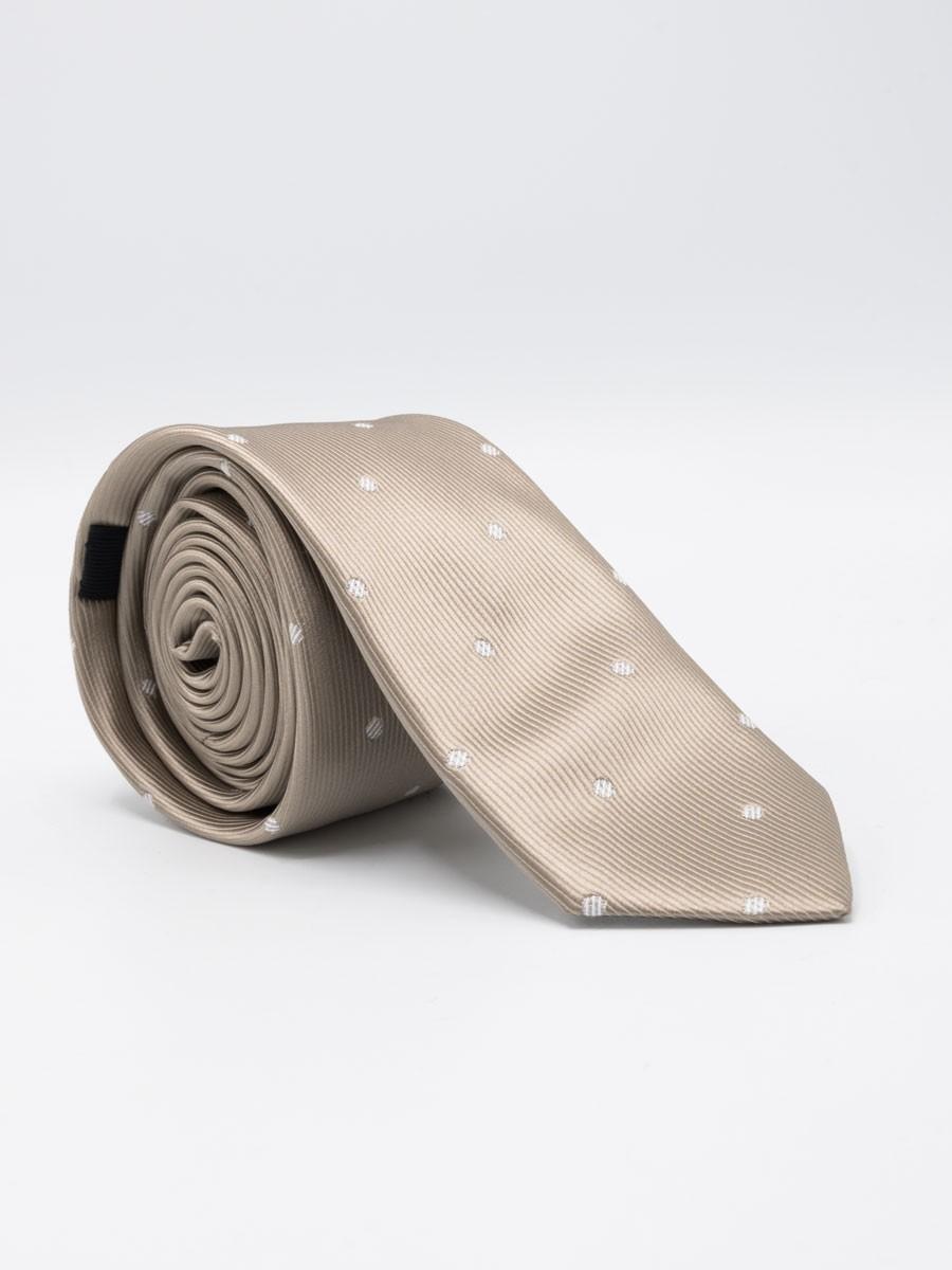 Rich Gold Dot Tie