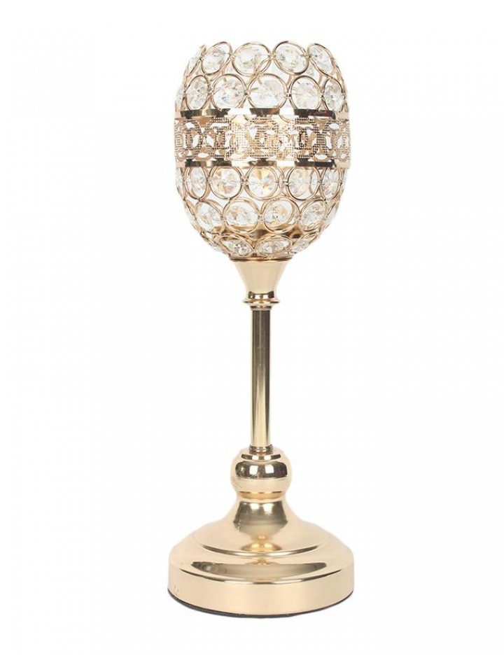 Candle Stand Golden Fancy