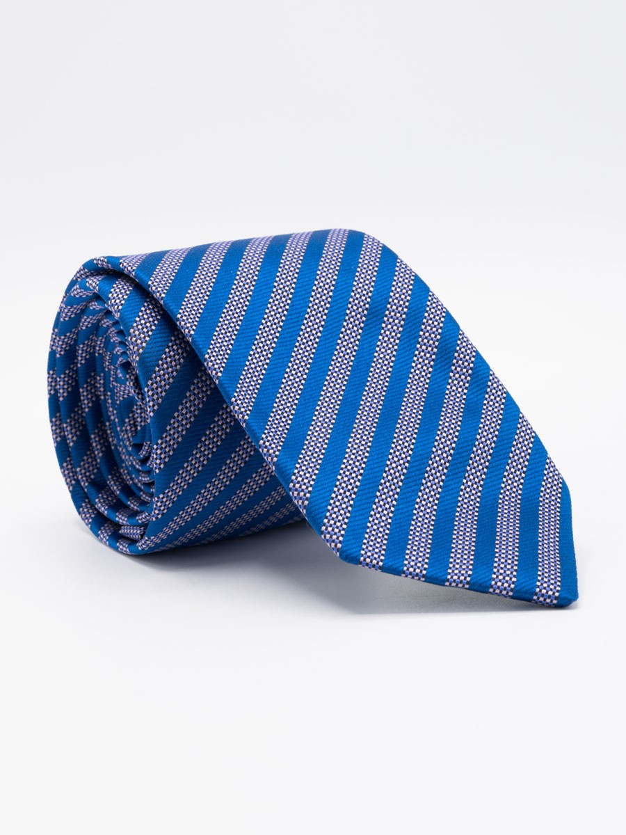 Classic Asymmetrical Stripe Tie