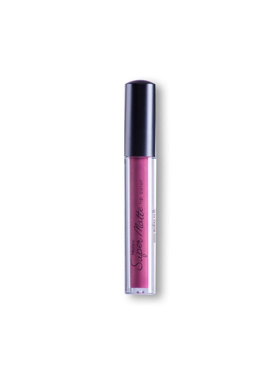 Mistine Super Matte Air Matte Liquid Lip Color (09 Purple)