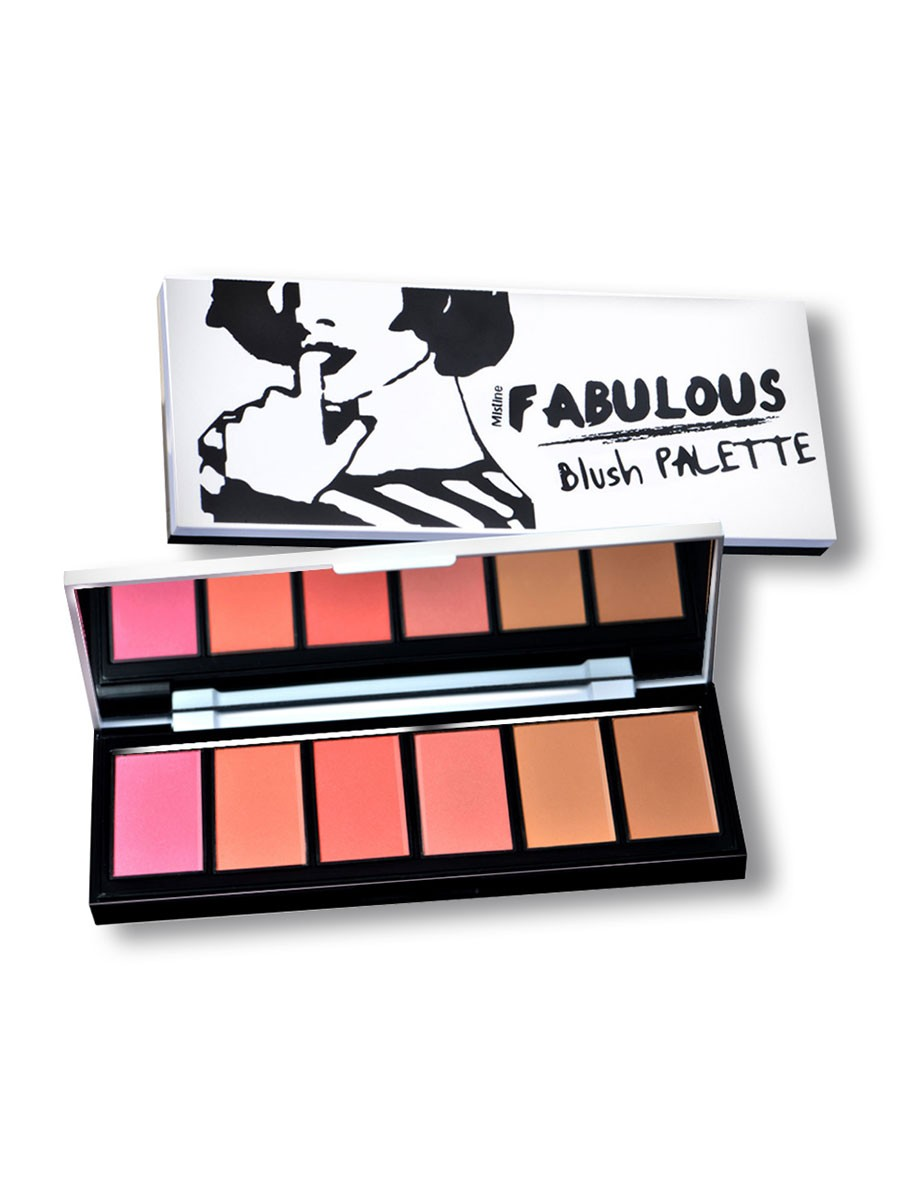 Mistine Fabulous Blush Pallete