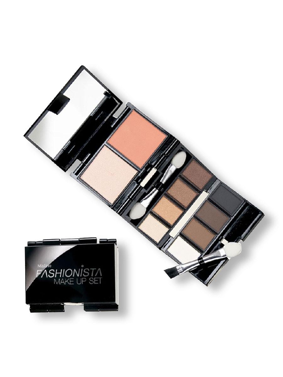 Mistine Fashionista MakeUp Set (02 Brown)