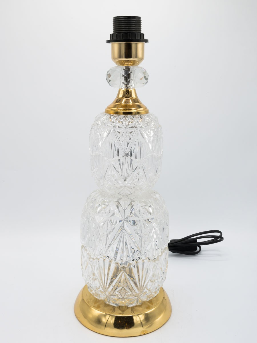 Golden Crystal Lamp