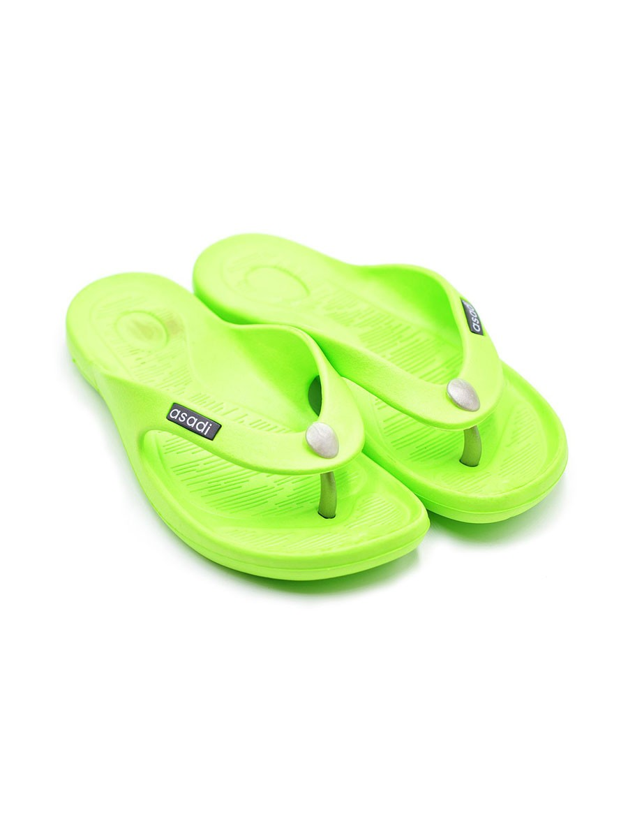 LEMON GREEN- LADIES SLIPPER