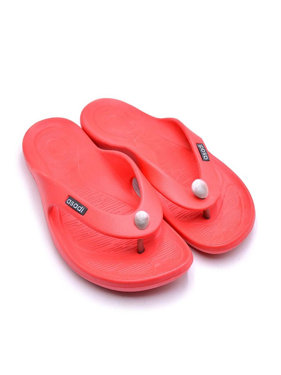 Red Bath Slippers Men