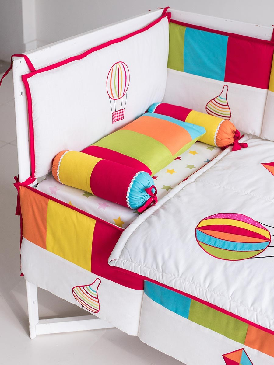 Magical Kite 10 Pcs Cot Set