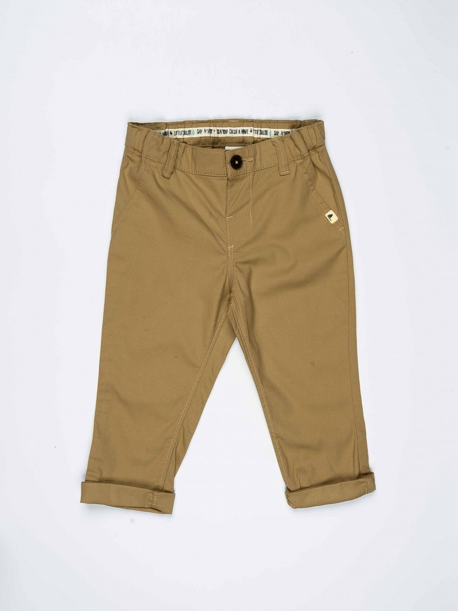 Light Brown Baby Boy Chino