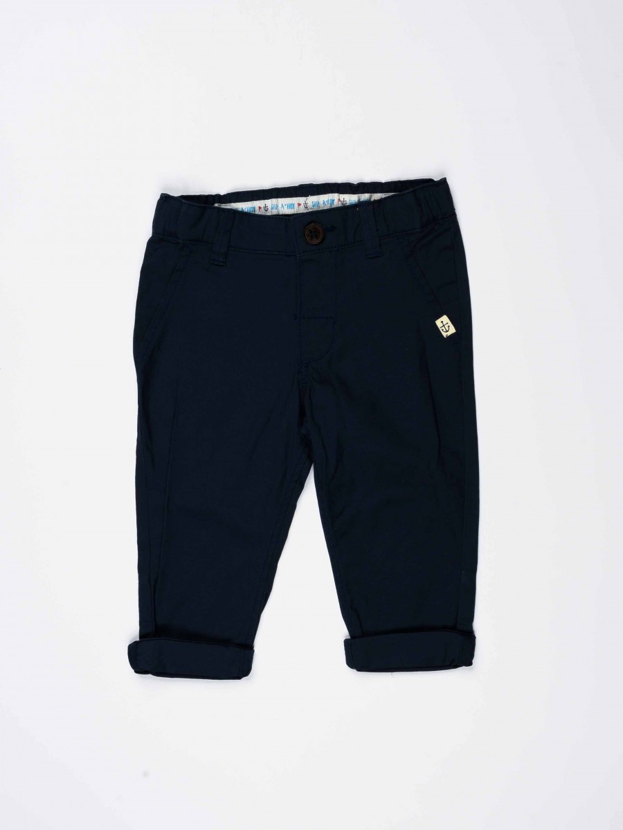Dark Blue Baby Boy Chino