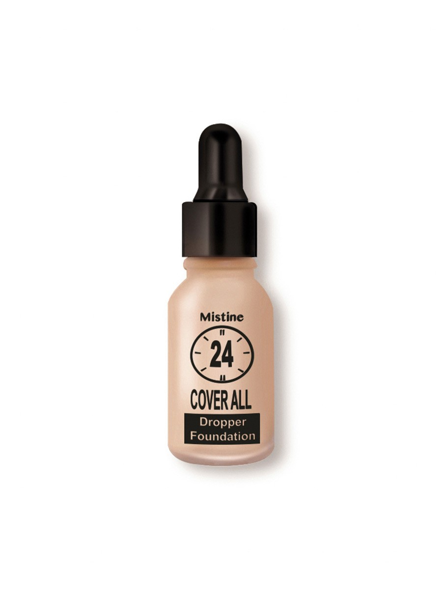 Mistine 24 Cover-All Dropper Foundation  Shade:F2