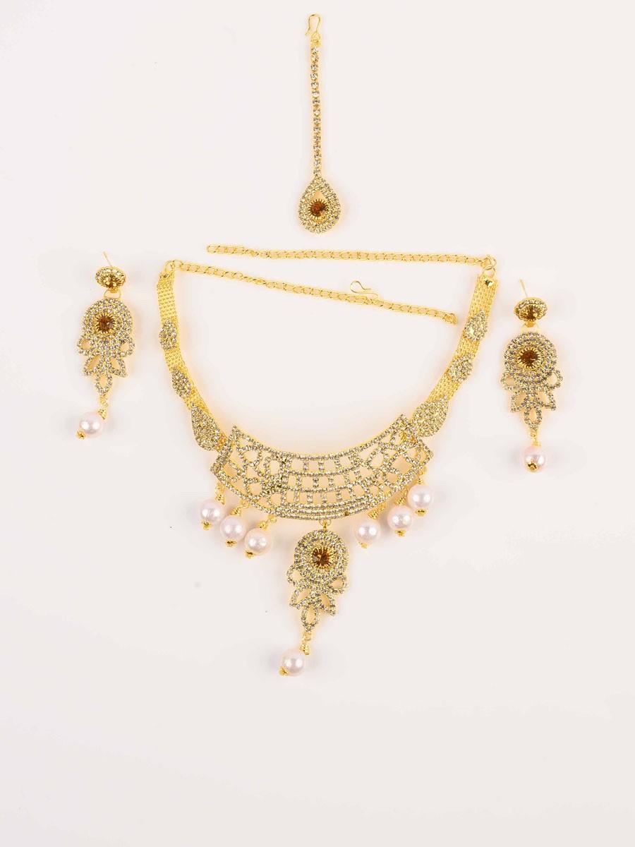 Elegant Gold plated Necklace set
