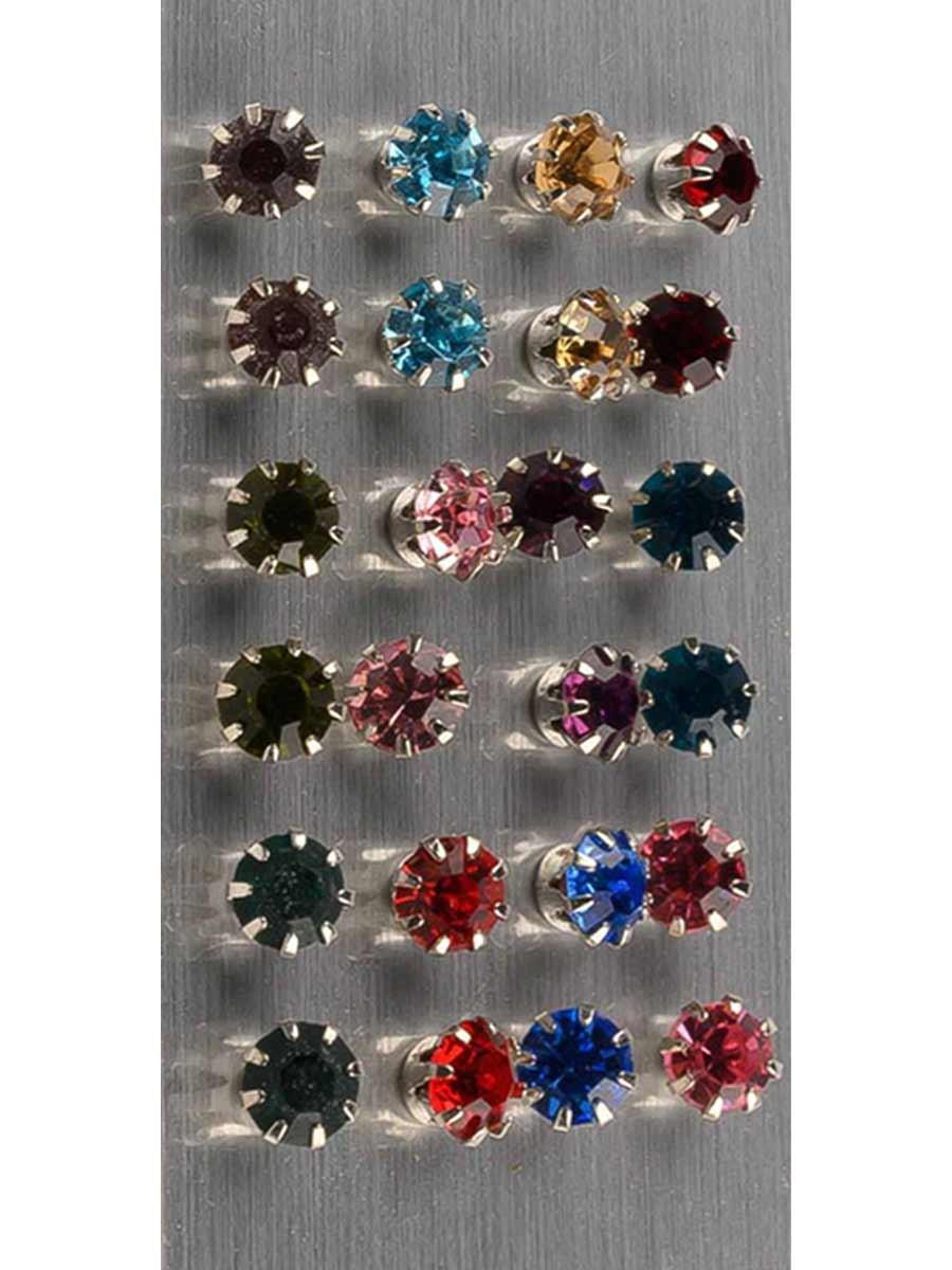 MultiColour Zirconia Tops (Pack of 12)