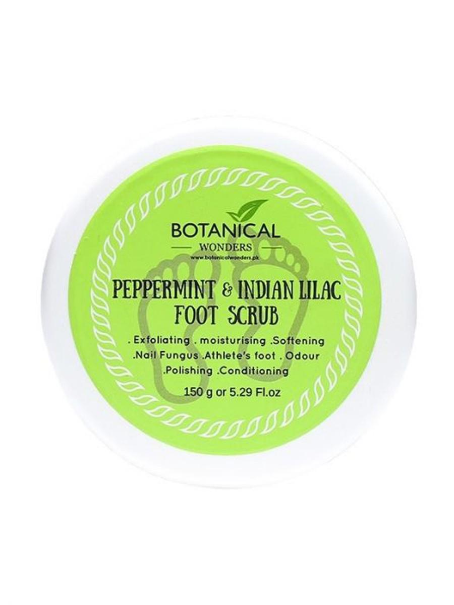 Peppermint & Indian Lilac Foot Scrub