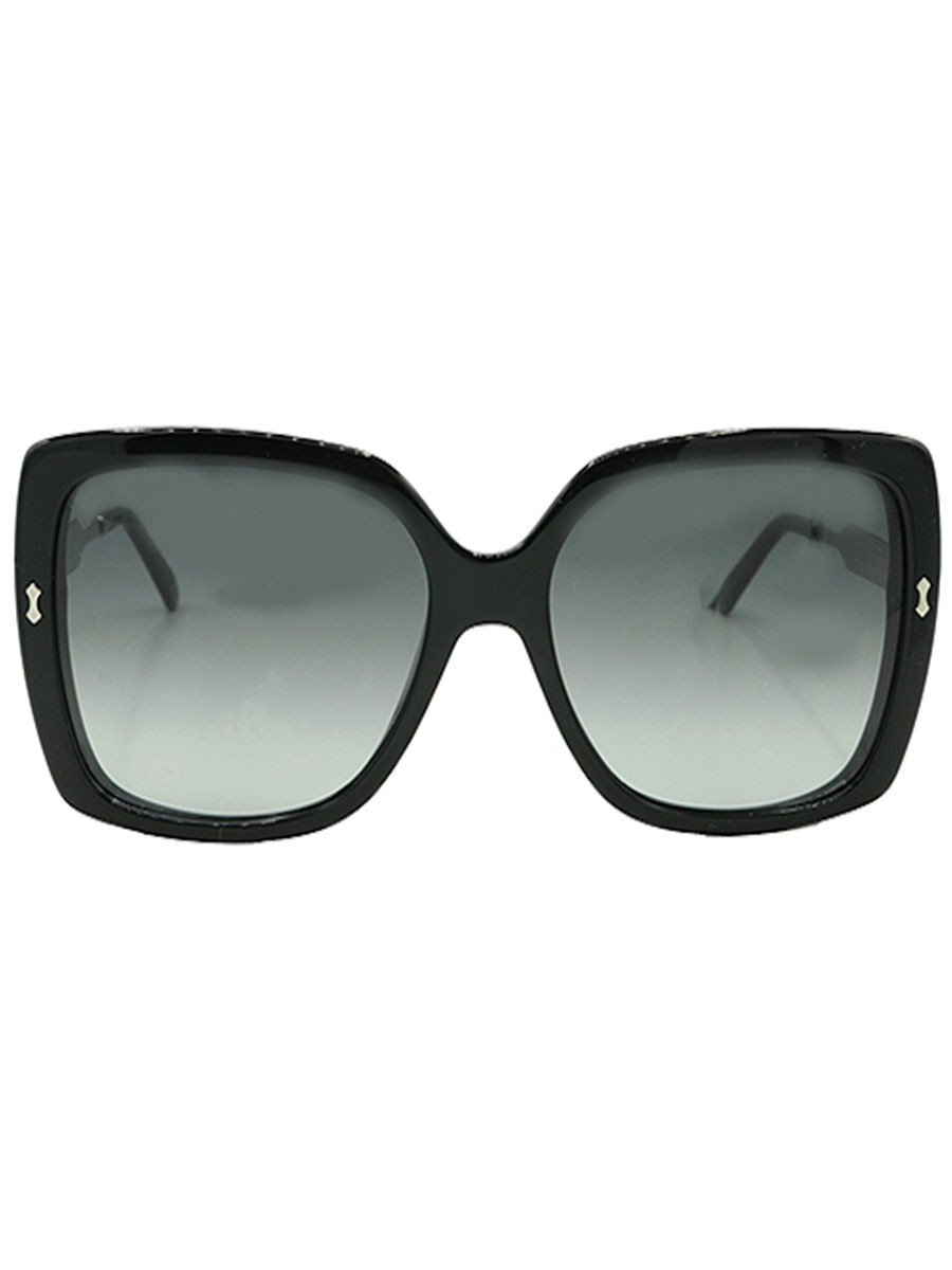 Rectangular Frame Acetate Sunglasses