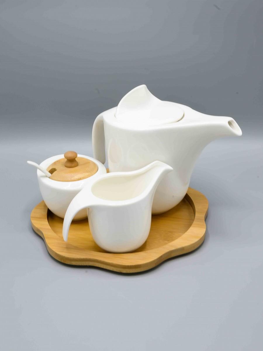 Tea Milk Sugar Set