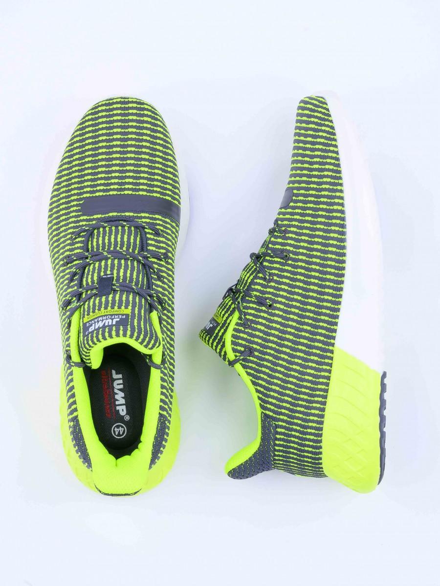 Men's Lifestyle Shoes Grey/Lime