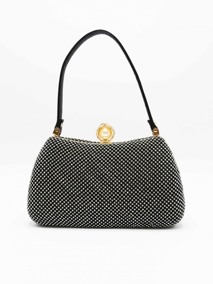 Glitter Black Women Bag