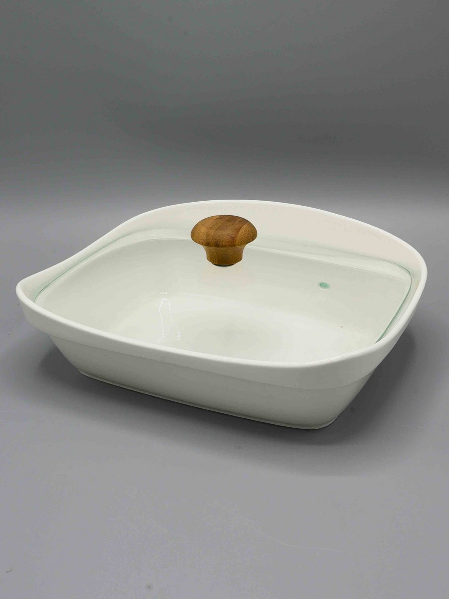 Solecasa Bowl With Glass Lid