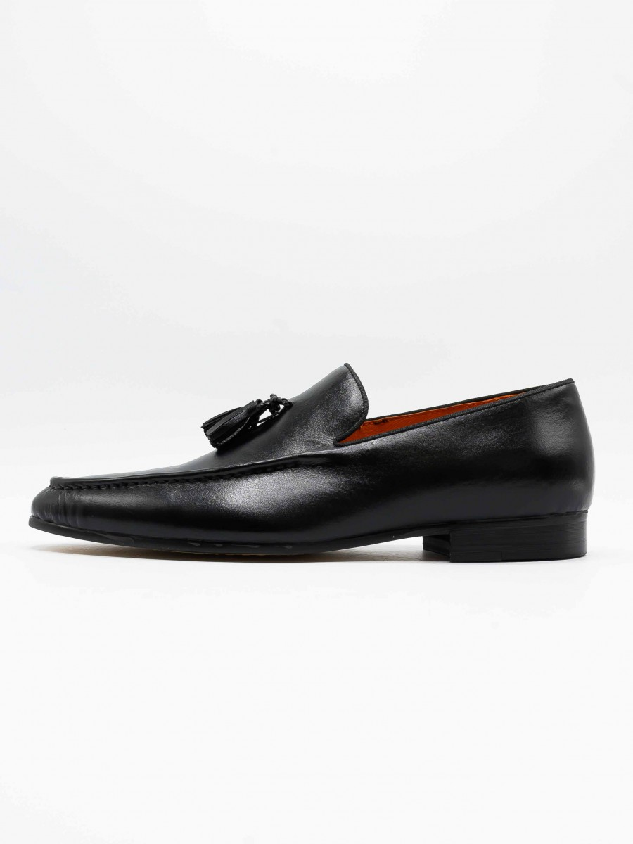 Jorden Black Casual Loafers