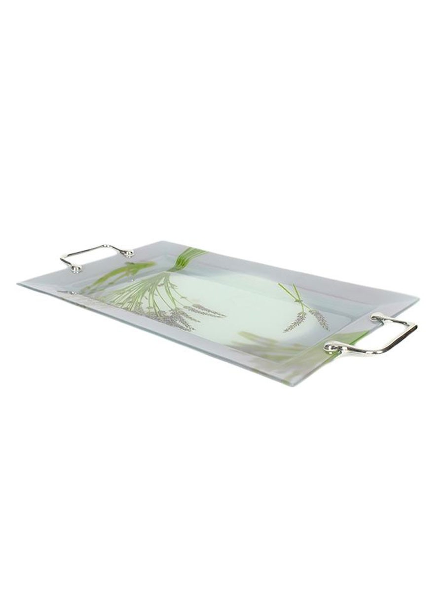 Solecasa Glass Tray Large