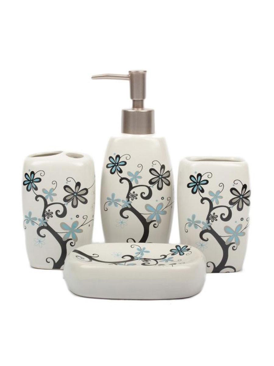 Ceramic Bathroom Set 4pcs