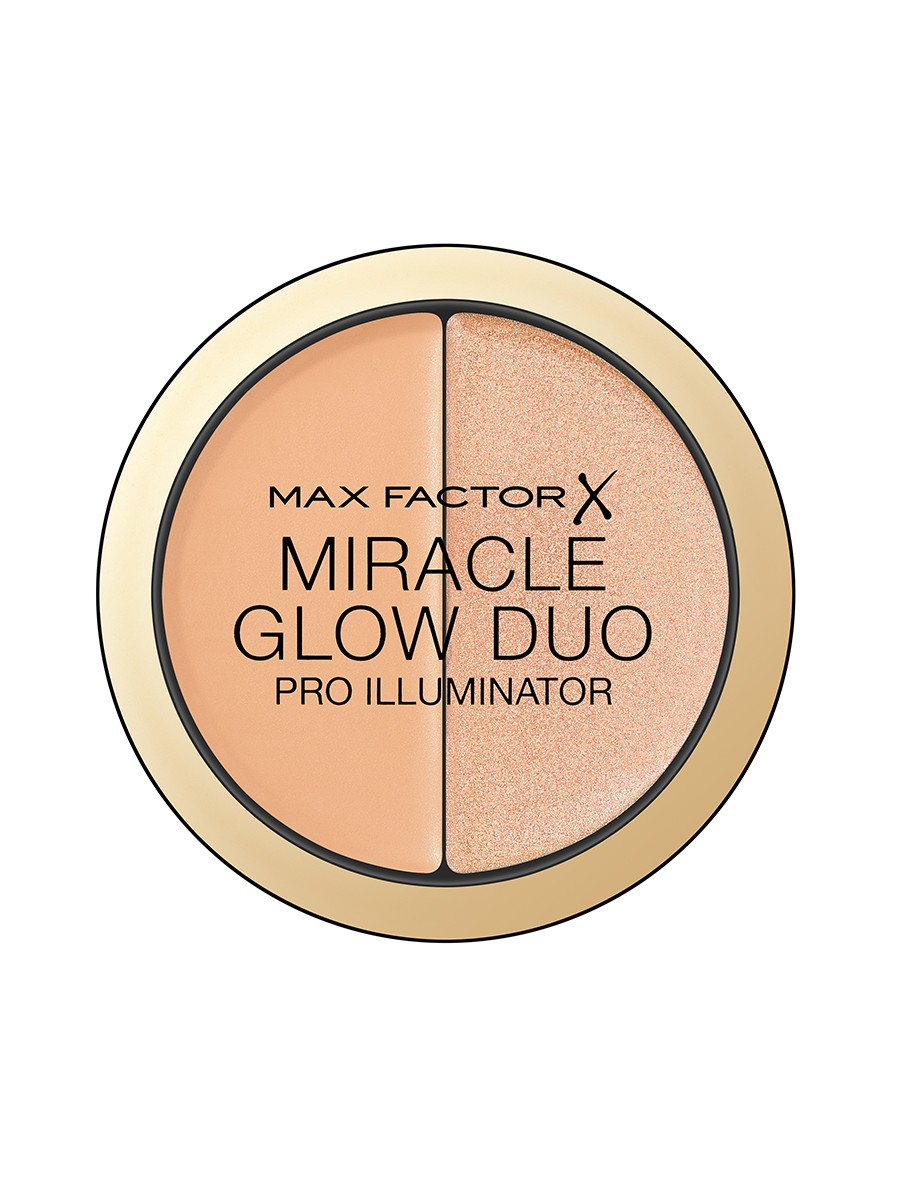 Max Factor Miracle Glow Duo, Pro Illuminator, 20 Medium, 11g