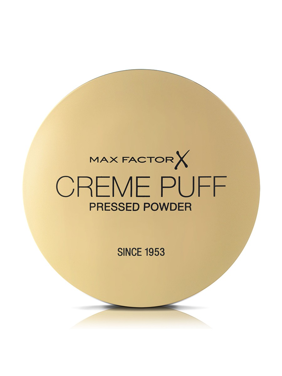 Max Factor Creme Puff, Pressed Compact Powder, 042 Deep Beige, 21 g