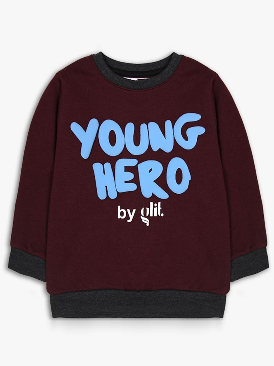 Young hero by glit Crew Neck