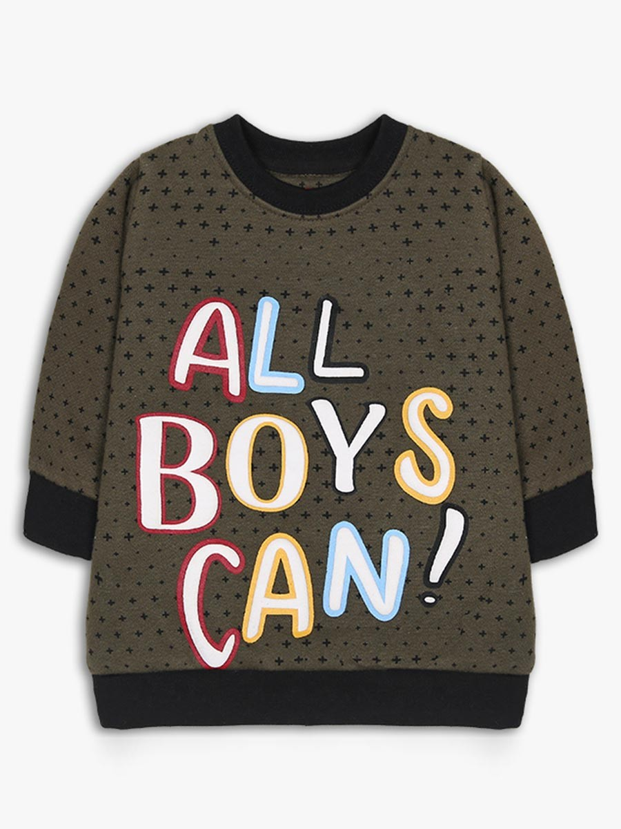 All boys can Crew Neck