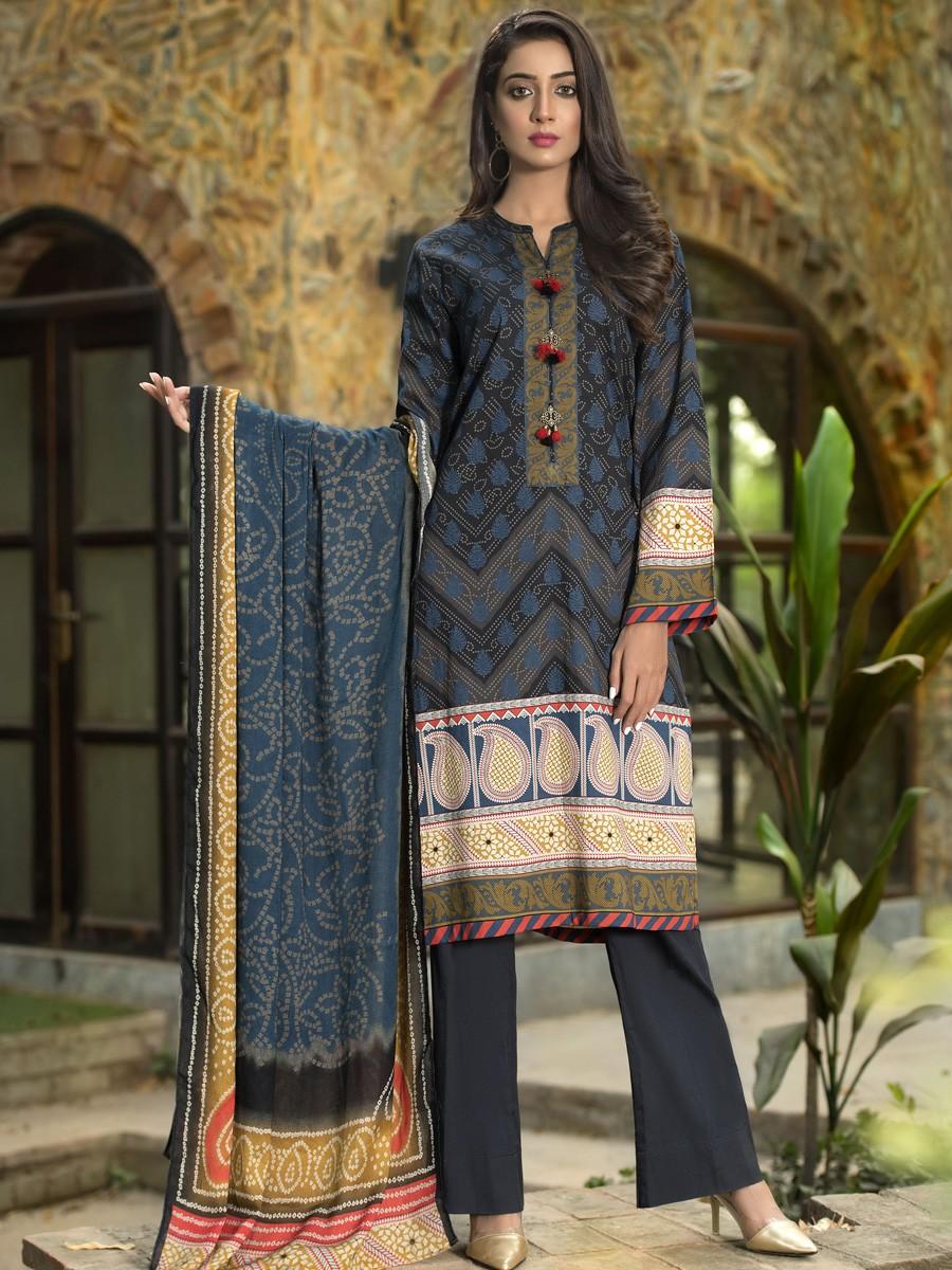 Black 2 Piece Winter Cotton Suit