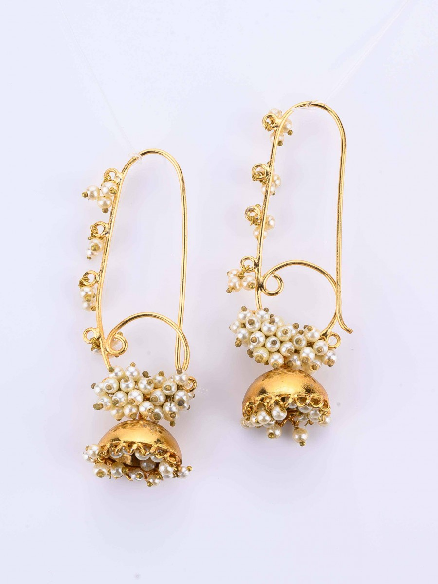 Long  Jhumki Earrings