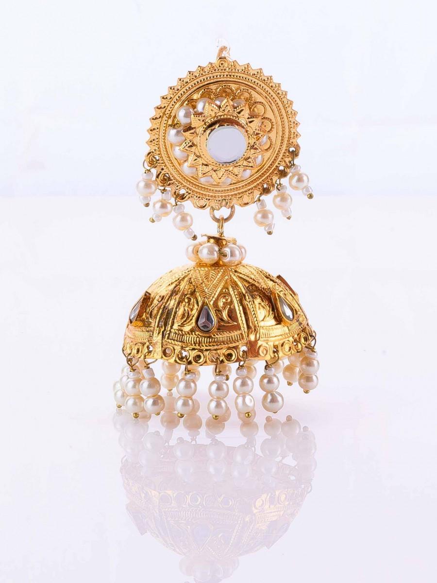 Golden Patra Jhumkay