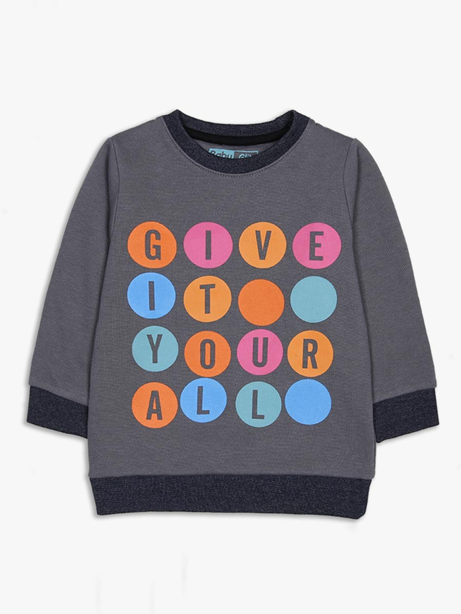 Give it your all logo Crew Neck