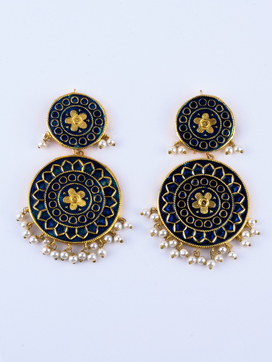Thapa Meenakri Earrings