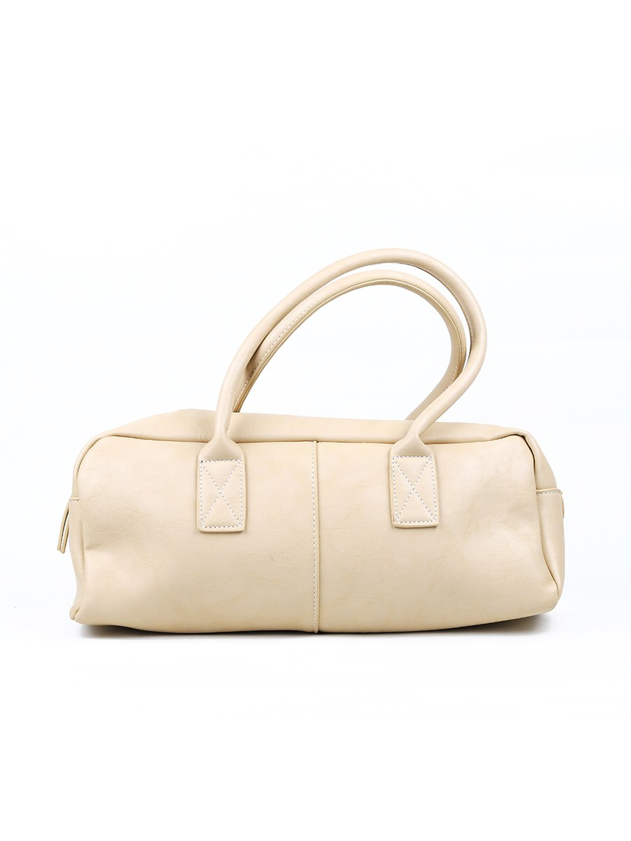 CREAM DUFFLE