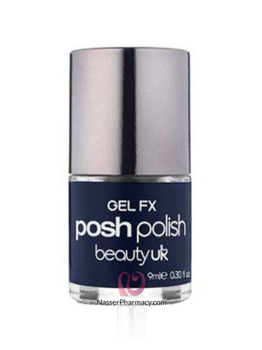 BUK POSH POLISH GEL FX 29 MIDNIGHT IRIS (DARK BLUE)
