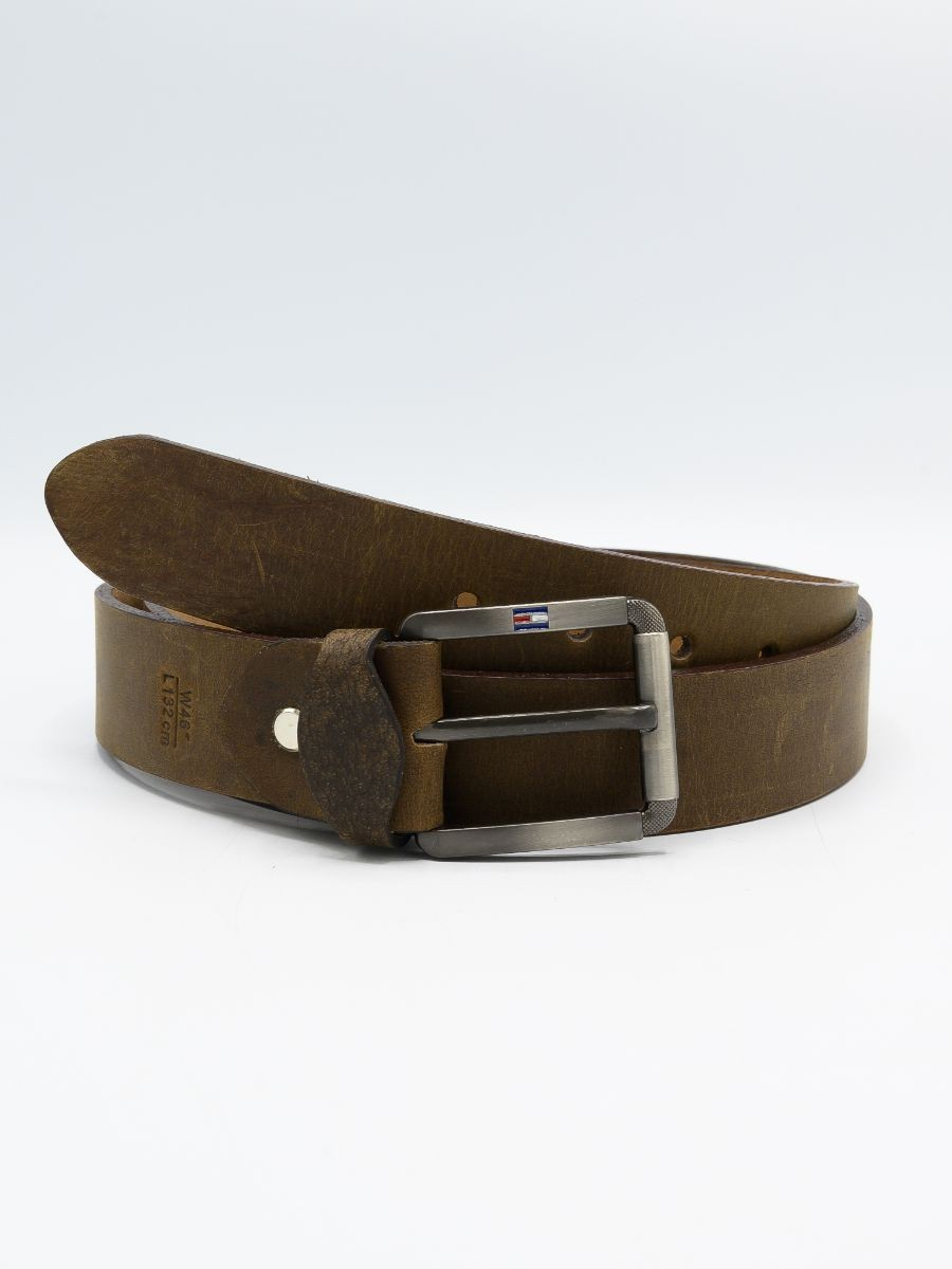 Brown Cow Leather Belt for Men
