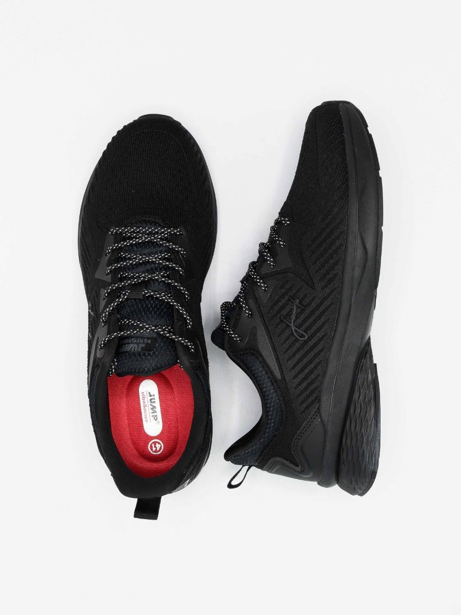 Men's Running Shoes Black/Red