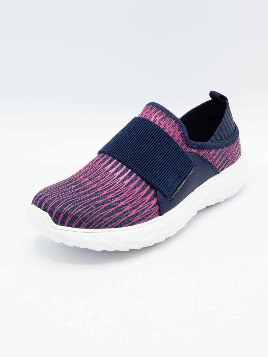Womens Running Shoes Navy/Fuschia