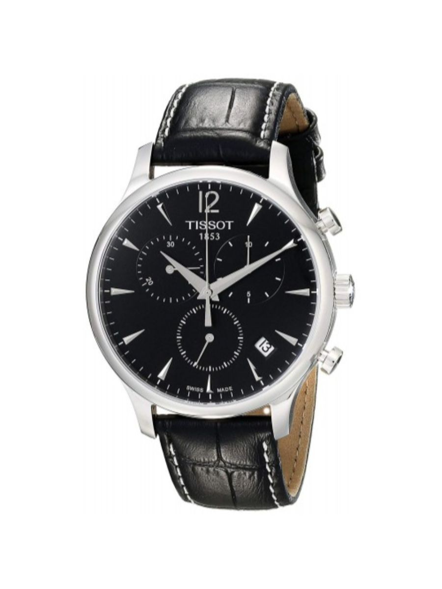 Tissot Men's T063 617 16 057 00 Black Dial Tradition