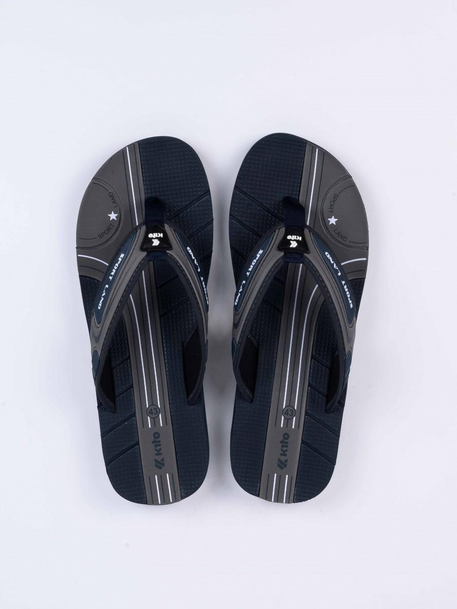 Navy Blue Kito Flip Flop for Men - ETGM9272