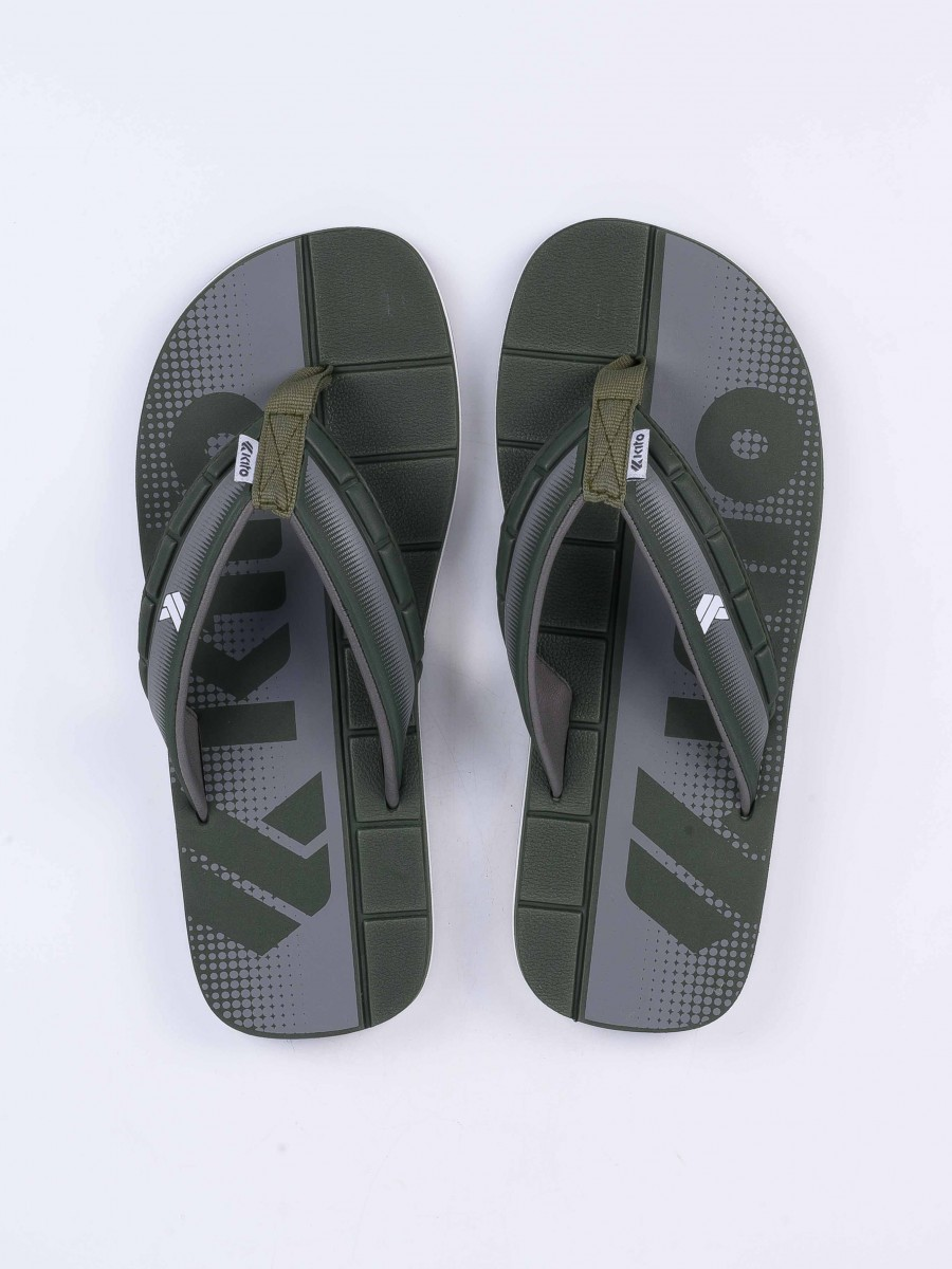 Green Kito Flip Flop for Men - AA34M