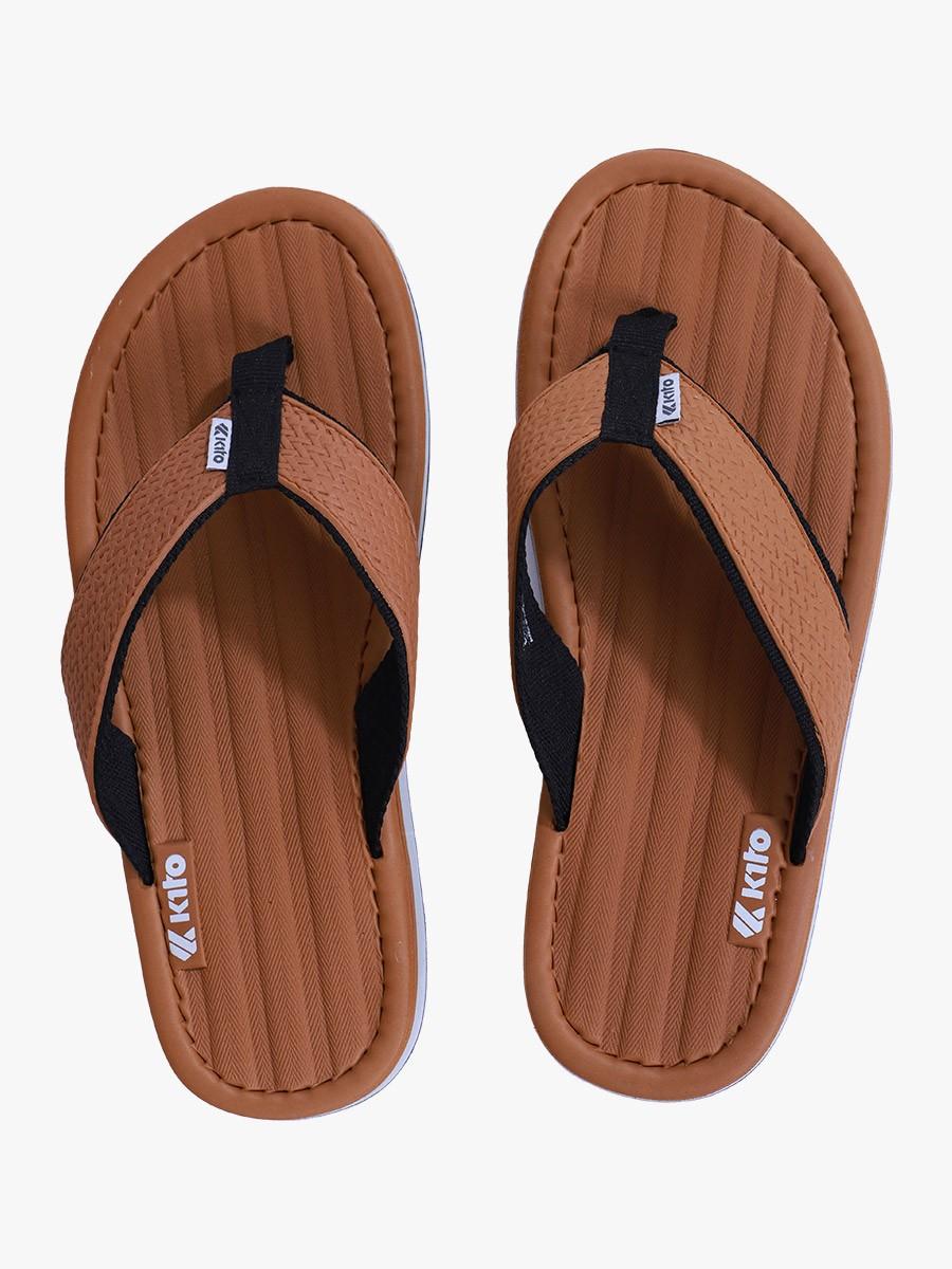 Tan Kito Flip Flop for Men - AA6M