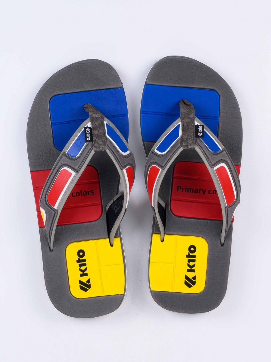 Gray Kito Flip Flop for Men - AA58M