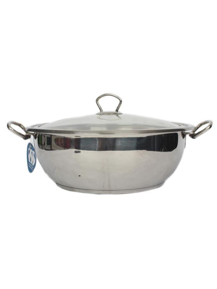 Alpha Stainless Steel Karahi Pot 32Cm