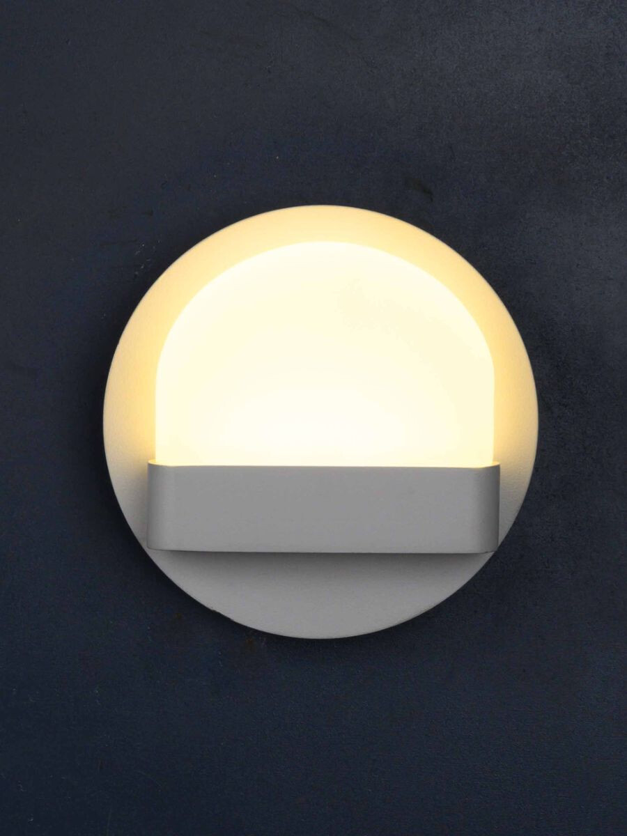 Round Neck LED Wall Light