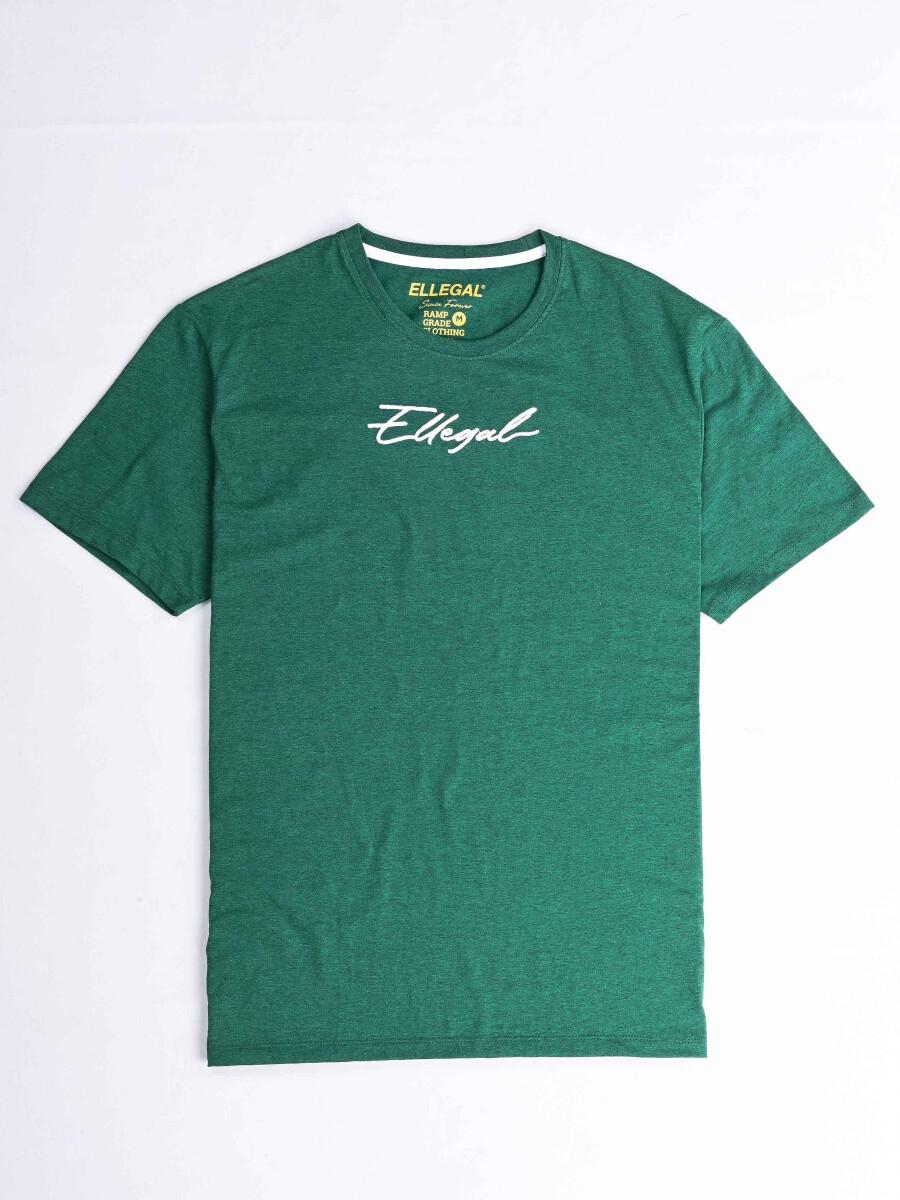 Cally Custom Fit Cotton Blend Tee Shirt- Bright Green