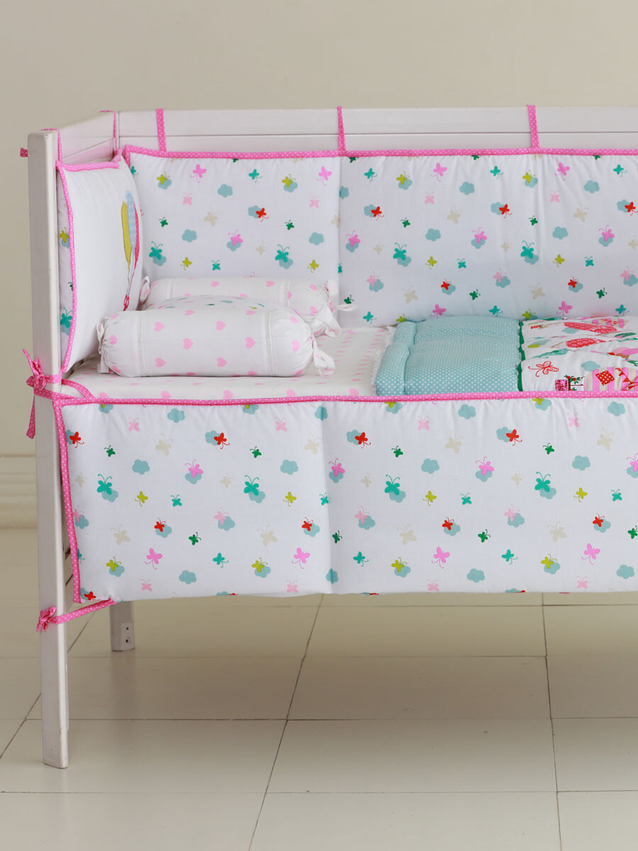 Up & Away Cot Bedding Set