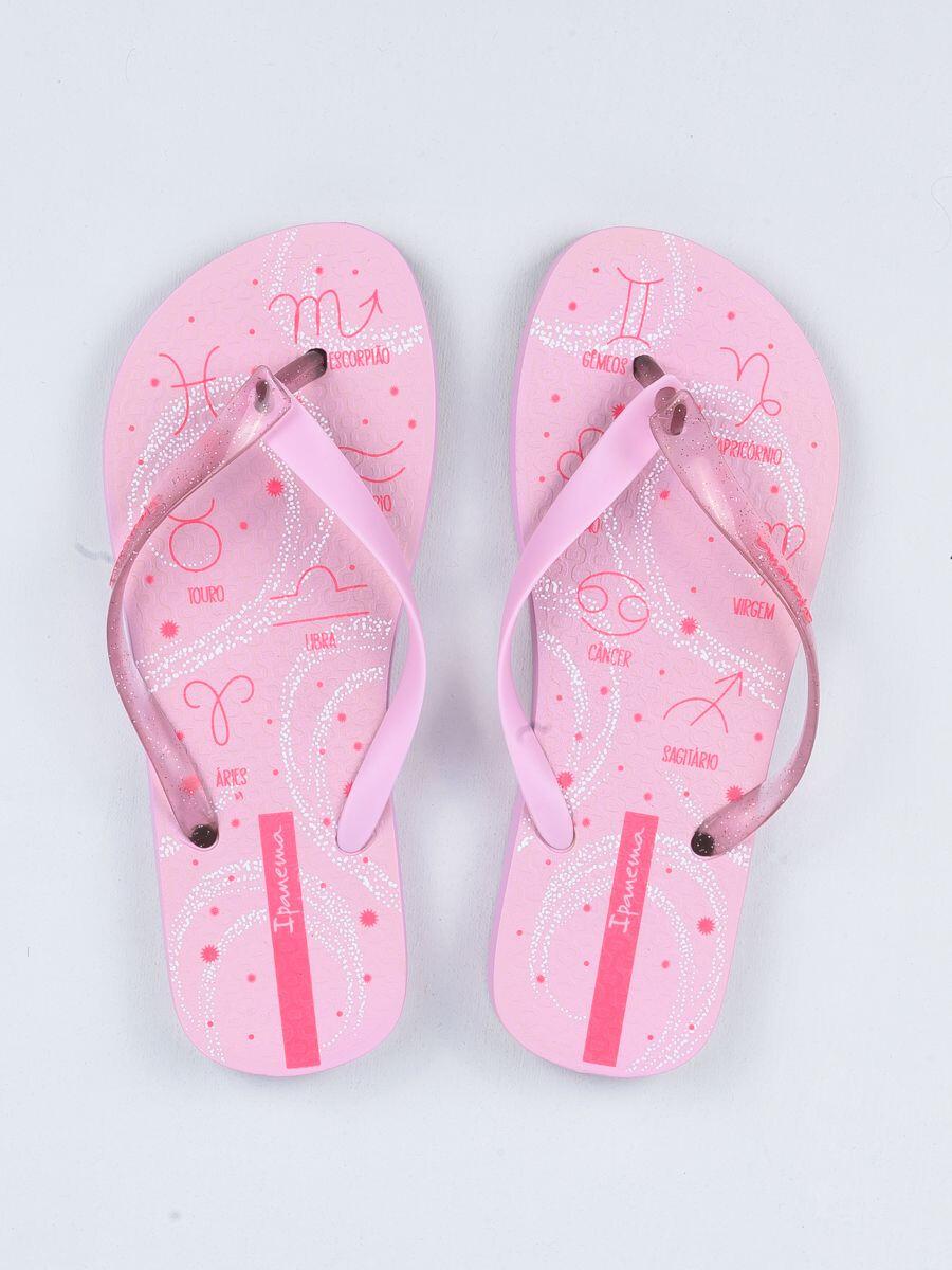 Pink Glitter Flip Flop